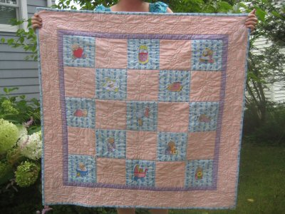 Beths Hush Baby Quilt