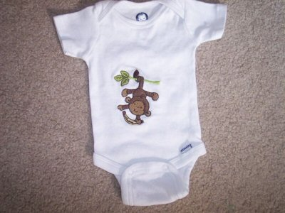 Dianes Monkeying Around Baby Set