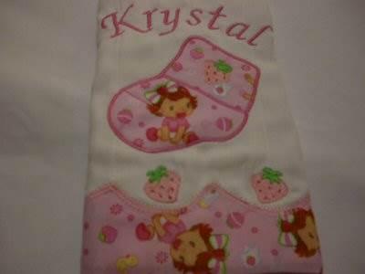 Mirtas Baby Applique Burp Cloth