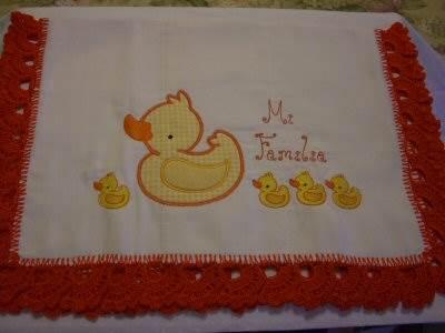 Mirtas Duckie Receiving Cloth