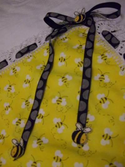 Mirtas Bee Receiving Blanket