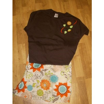 Roxies Swirly Autumn Girls Outfit