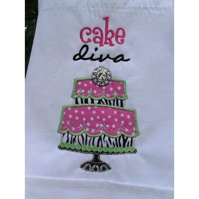 Charlas Cake Diva Apron