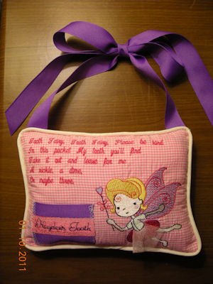 Julies Tooth Fairy Pillow