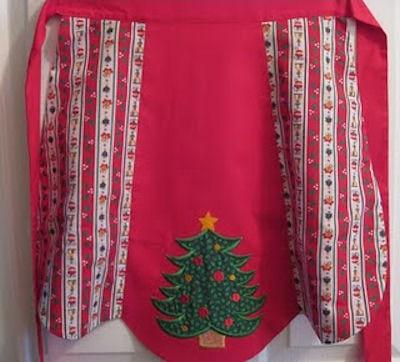 Vickis Christmas Jumbo Apron
