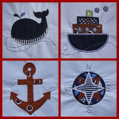 Alicias Nautical Applique Quilt