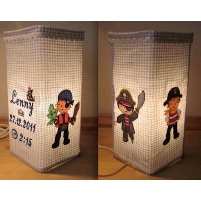 Bettinas Pirates Ahoy Lamp