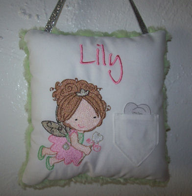 Cheryls Tooth Fairy Pillows