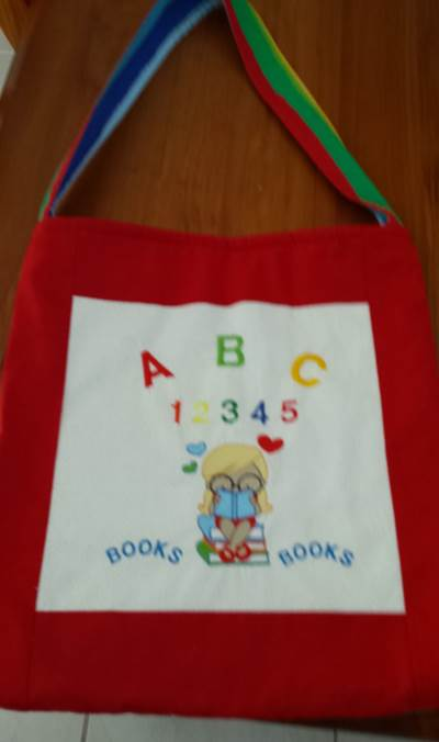 Rhonda Library Bag Aug 16