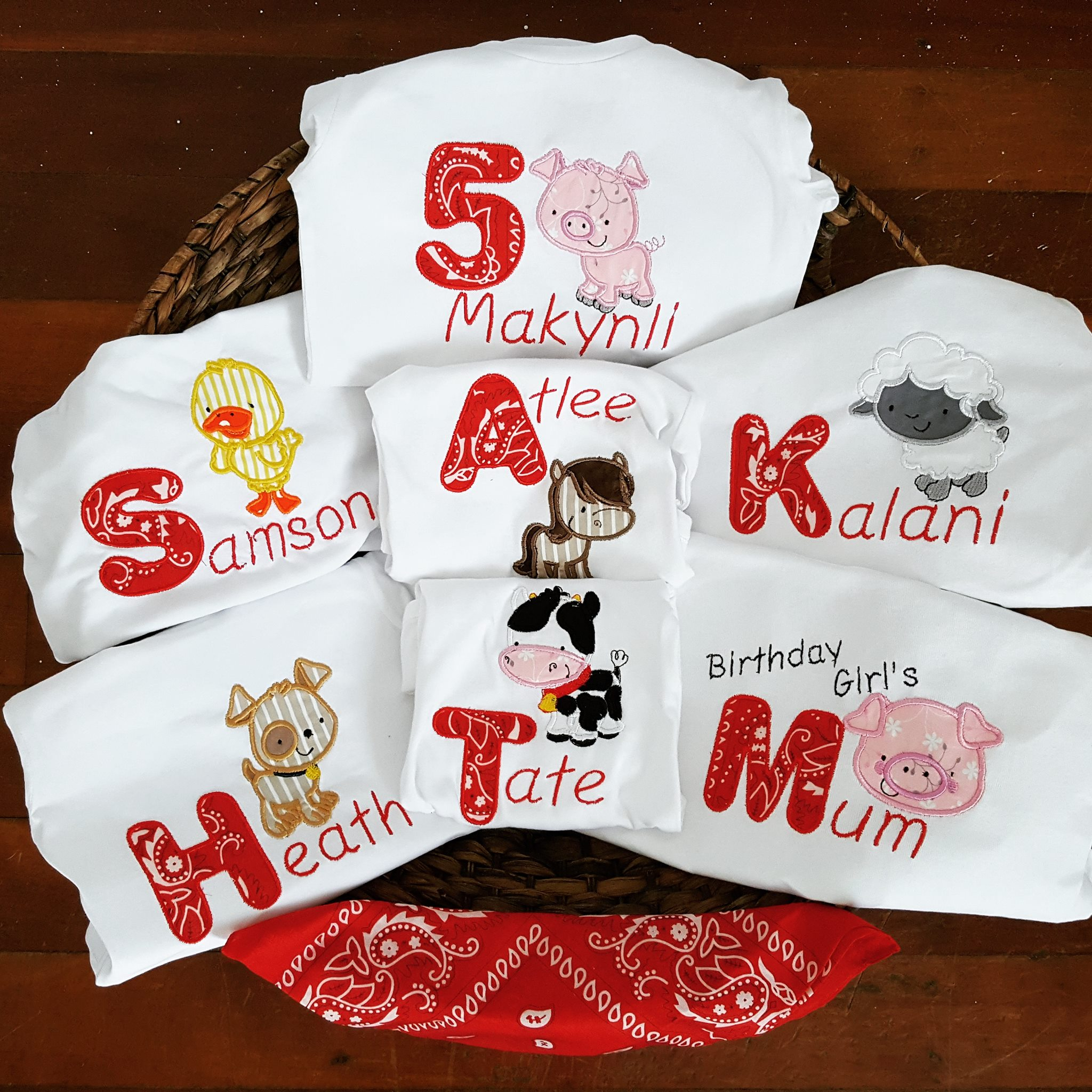 Sarah My Pet Birthday Shirts