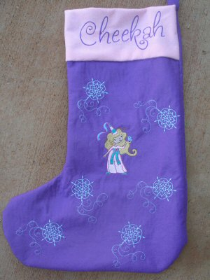 Amandas My Fair Princess Stockings