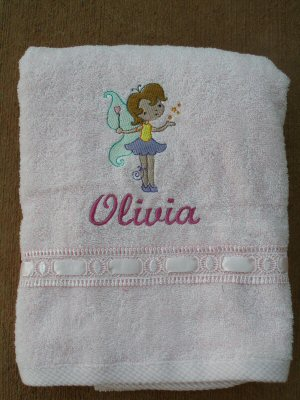 Amandas Fairy Love Towel