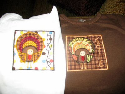 Kacyes Thanksgiving Whimsy Shirts
