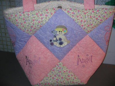 Karens Baby Moments Quilted Bag