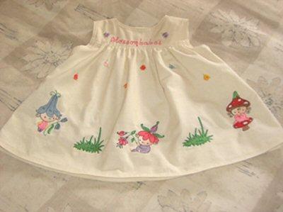 Marys Blossom Babes Girls Dress