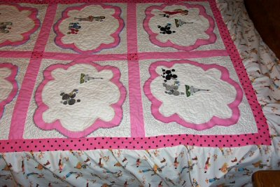 Shirleys Paris Diva Quilt