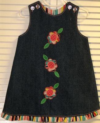 Robins Simply Spring Applique Dress