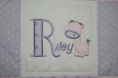Kathys Might Jungle Animals Baby Quilt