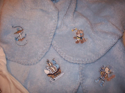 Barbs Pirates Ahoy Blanket