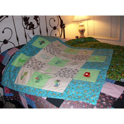 Dianne Mighty Jungle Animals Blanket