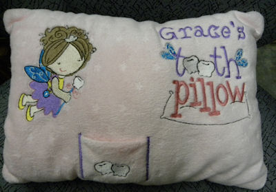 Effies Tooth Fairy Pillow
