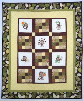 Enis Monkeying Around Quilt