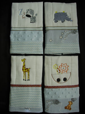 Melissas Burp Cloths