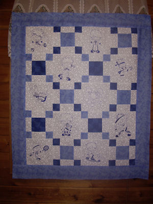Sues Sporty Boys Redwork Quilts