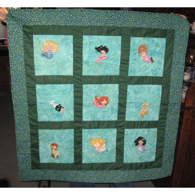 Betty Magical Mermaids Quilt