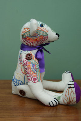 Kathryns Jacobean Colorworks Bear