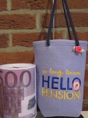 Lia Retirement Sentiments Bag