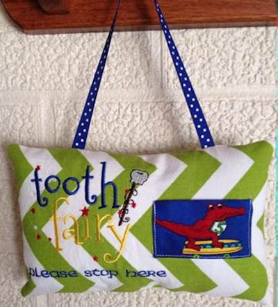 Juanita The Tooth Tooth Fairy Pillows