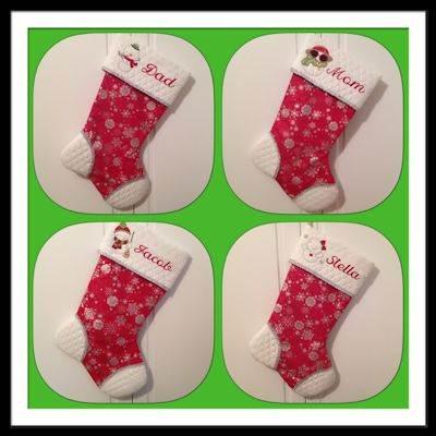 Judy Snowbusiness Stockings