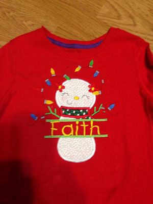 Linda Spliet Christmas Applique Shirt
