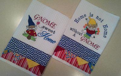 Theresa Gnomes Towels