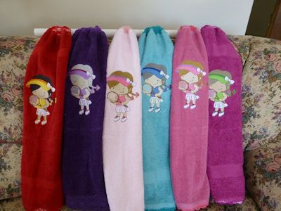 Toni Tennis Towels