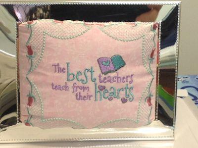 Carole Dear Teacher Picture Frame