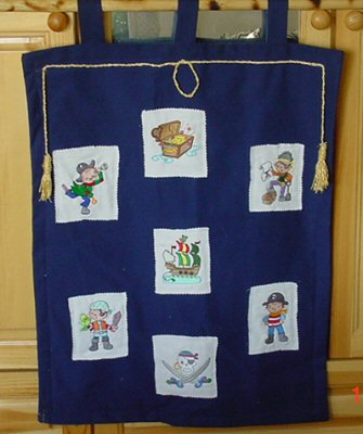Christines Pirate Ahoy Wall Hanging