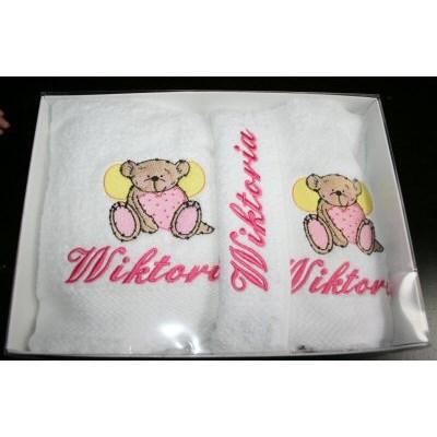 Kerrys Beary Flutters Towel Set 2