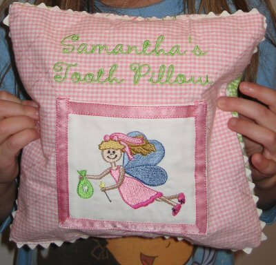 Jamies Tooth Fairy Pillow