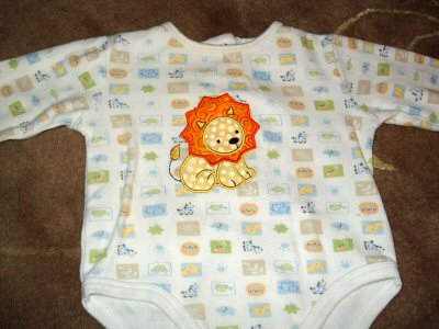 Sues Sweet Animals Applique Onsie
