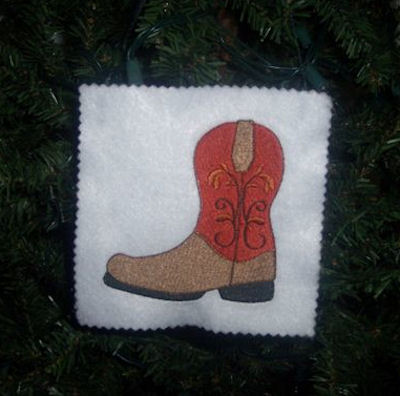 Colleens Go West Ornament