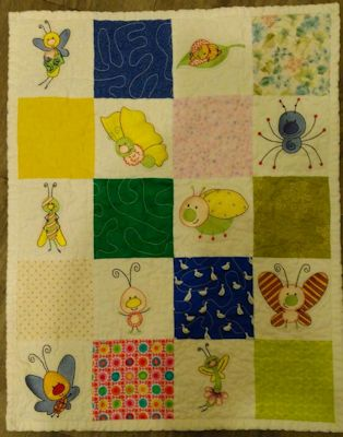 Lynne Spring Bugs Quilt