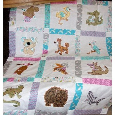 Lindy Lous Aussie Animals Quilt