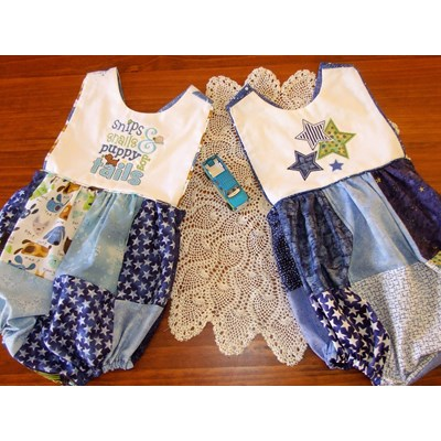 Lindy Lous Kidsworld Rompers Feb 17