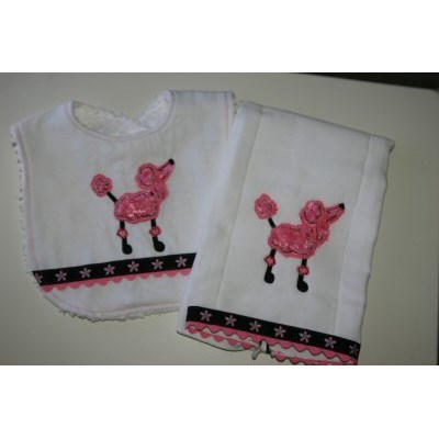 Andis Little Stitchies Burp and Bibs