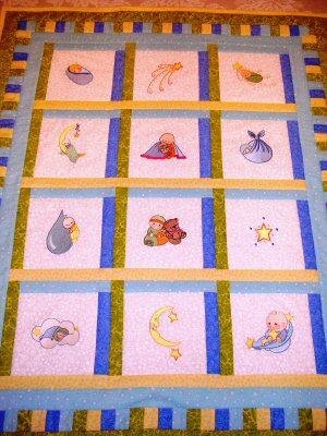 Enis Bubba Boo Quilt
