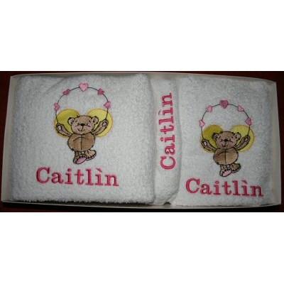 Kerrys Beary Flutters Towel Set