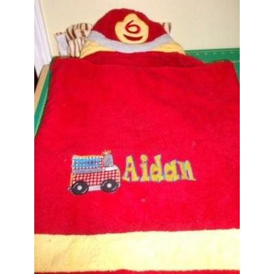 Jeans Applique Boys Toys Towel