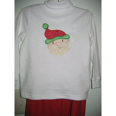 Katies Christmas Applique Outfits